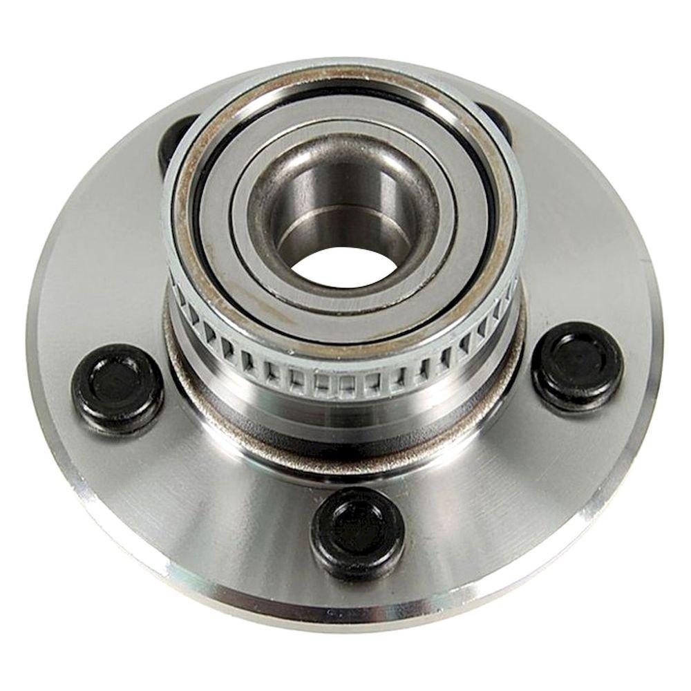 rear wheel bearing and hub