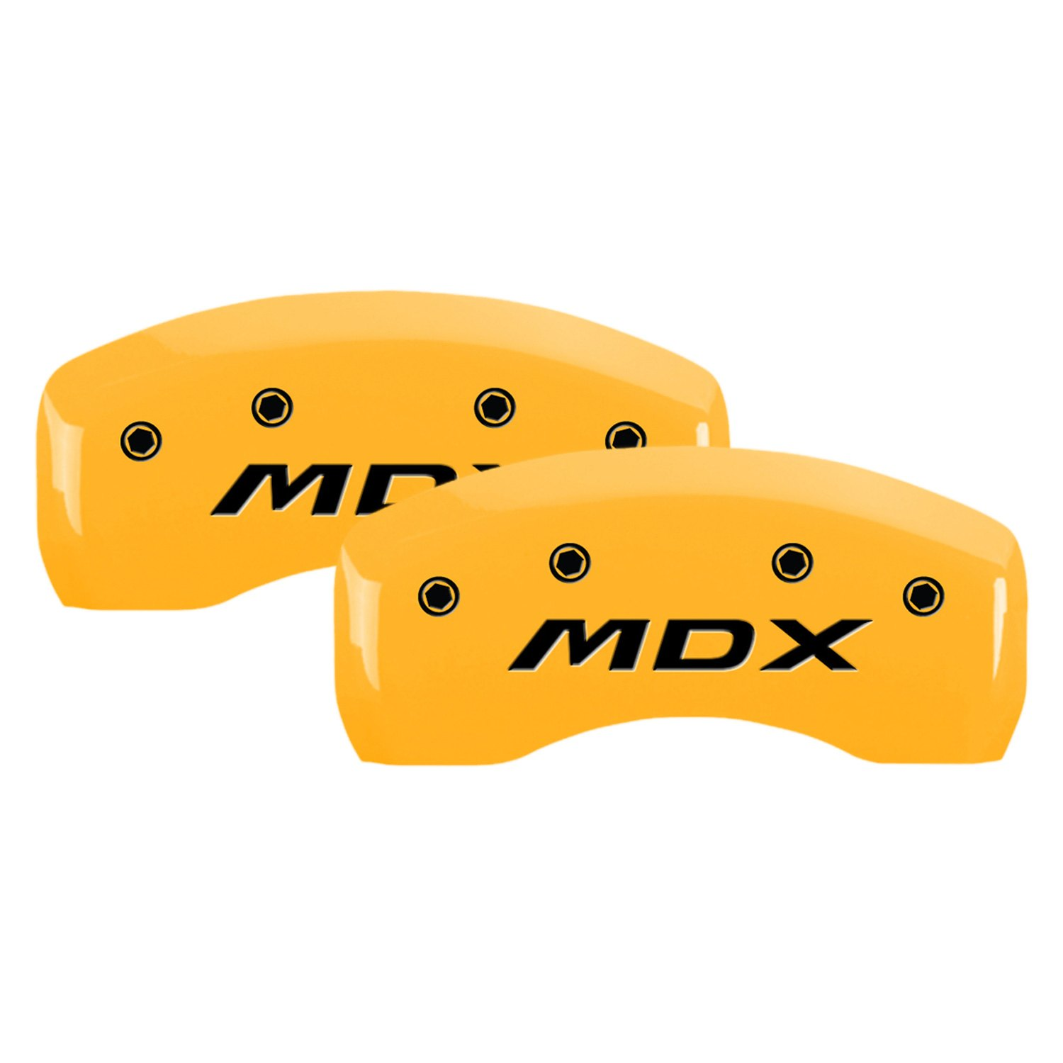 Gloss Yellow Caliper Covers With Acura