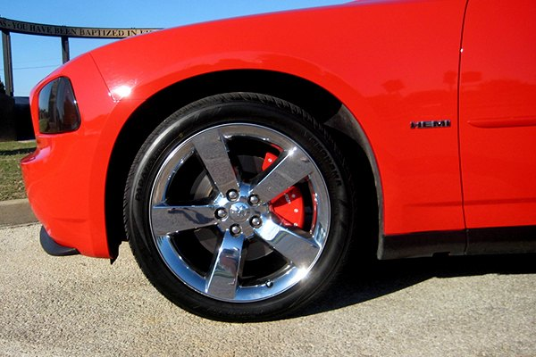 MGP Caliper Cover on Dodge Charger