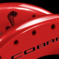 MGP® - Caliper Covers with Cobra/Snake Engraved
