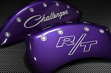 MGP® - Purple Caliper Covers with Charger R/T Logo