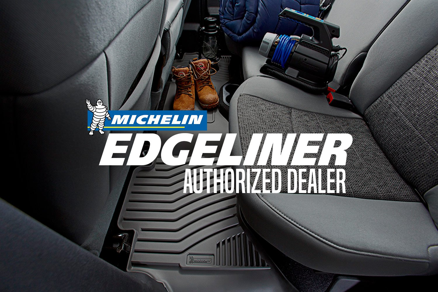 Rubber floor mats kia sorento -  Michelin Edgeliner Authorized Dealer