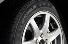MICHELIN® - 255/40R18 Tires on Car