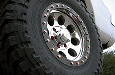 MICKEY THOMPSON® - CLASSIC BAJA LOCK Chrome on Toyota Tacoma