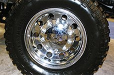 MICKEY THOMPSON® - CLASSIC BIG RIG Polished on Ford F-250
