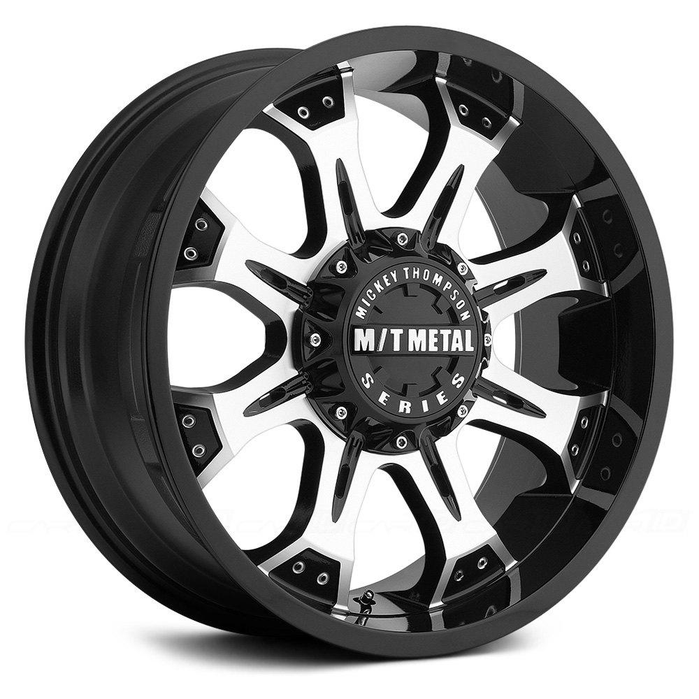 MICKEY THOMPSON® MM-164M Wheels - Gloss Black with ...