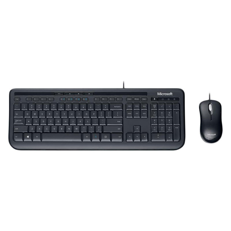 Microsoft® 3J2-00001 - Desktop 600 Wired Keyboard and Mouse