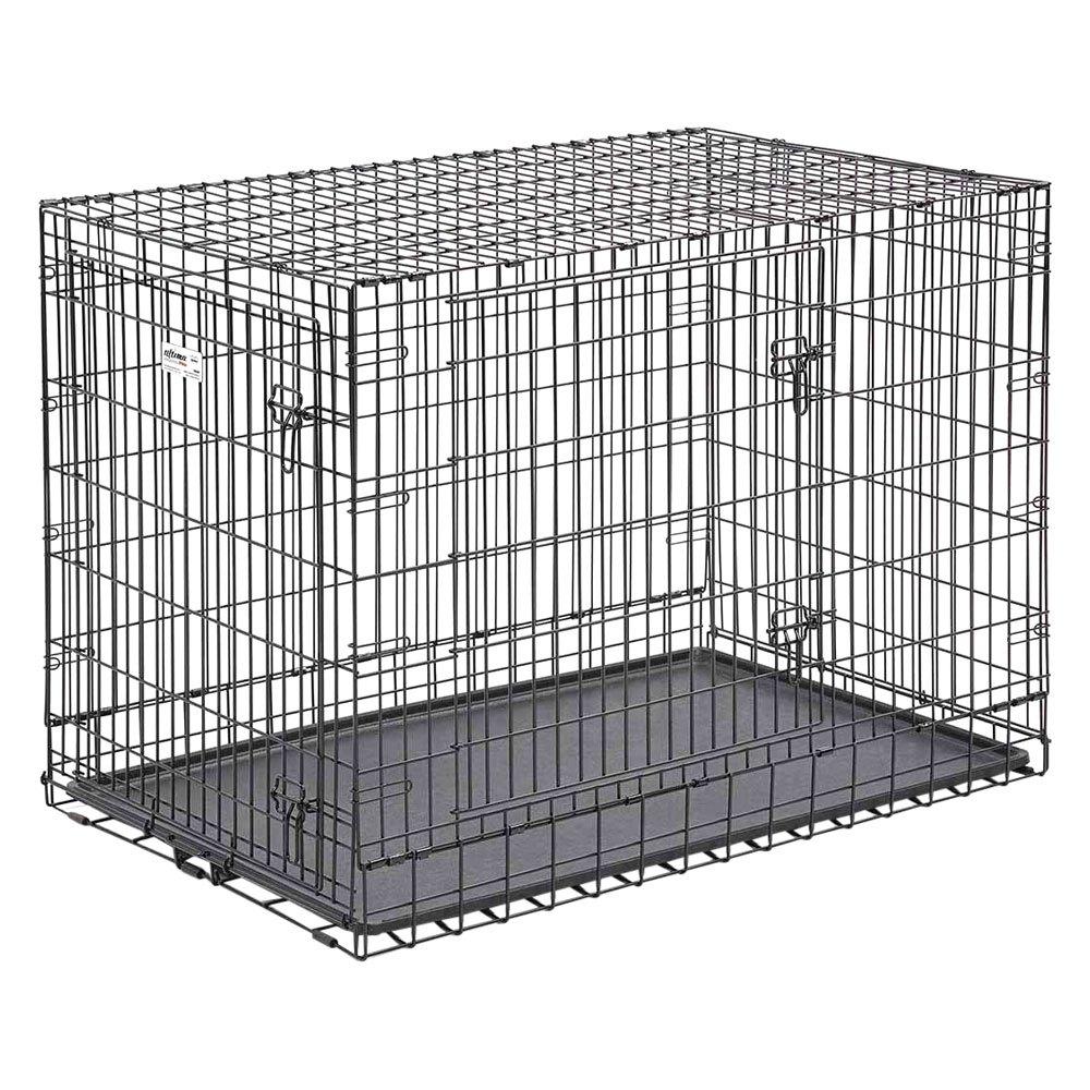 Midwest Pet®   Ultima Pro™ Black Double Door Dog Crate