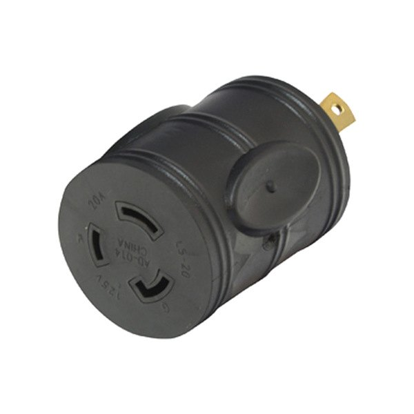 Gen 30 Amp Male 3-Way to 20 Amp Female 3-Way Generator Adapter Plug