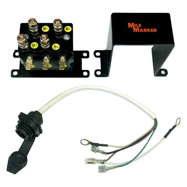 atv winch wiring harness mile marker 76-50105-32c - atv solenoid with ip67 wiring ... #5