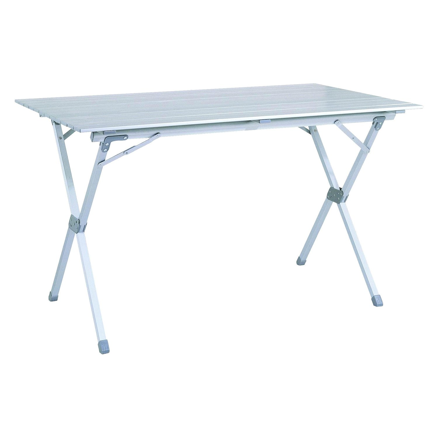 Mings mark ta8114 stylish camping aluminum roll top table for Markup table