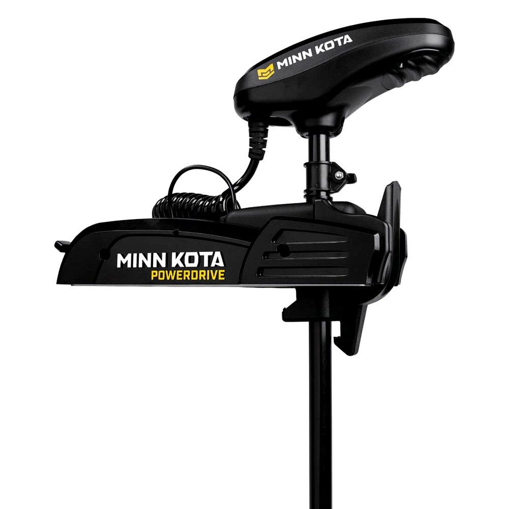 Minn kota 1358745 new pontoon powerdrive 12v 54 lbs for Minn kota 12 volt trolling motor