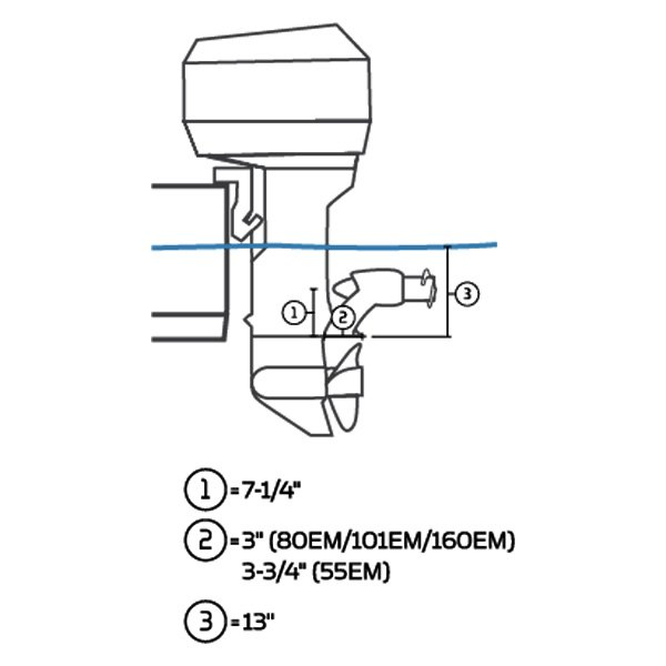 minn kota 1370610 mk series 12v 55 lb engine mount. Black Bedroom Furniture Sets. Home Design Ideas