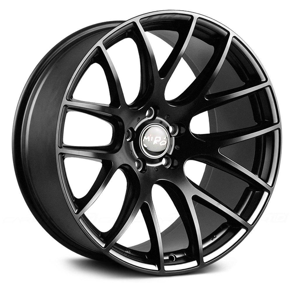 Miro 174 Type 111 Wheels Matte Black Rims