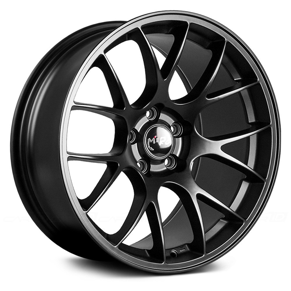 Miro 174 Type 112 Wheels Matte Black Rims