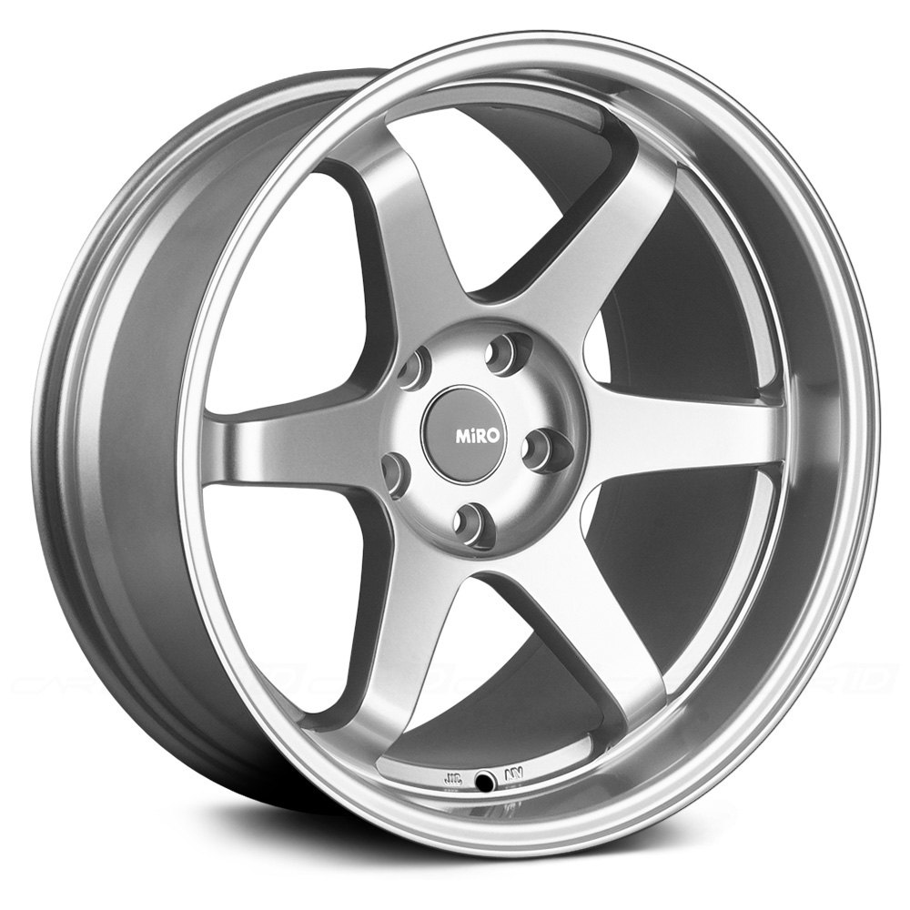 Miro 174 Type 398 Wheels Silver Rims