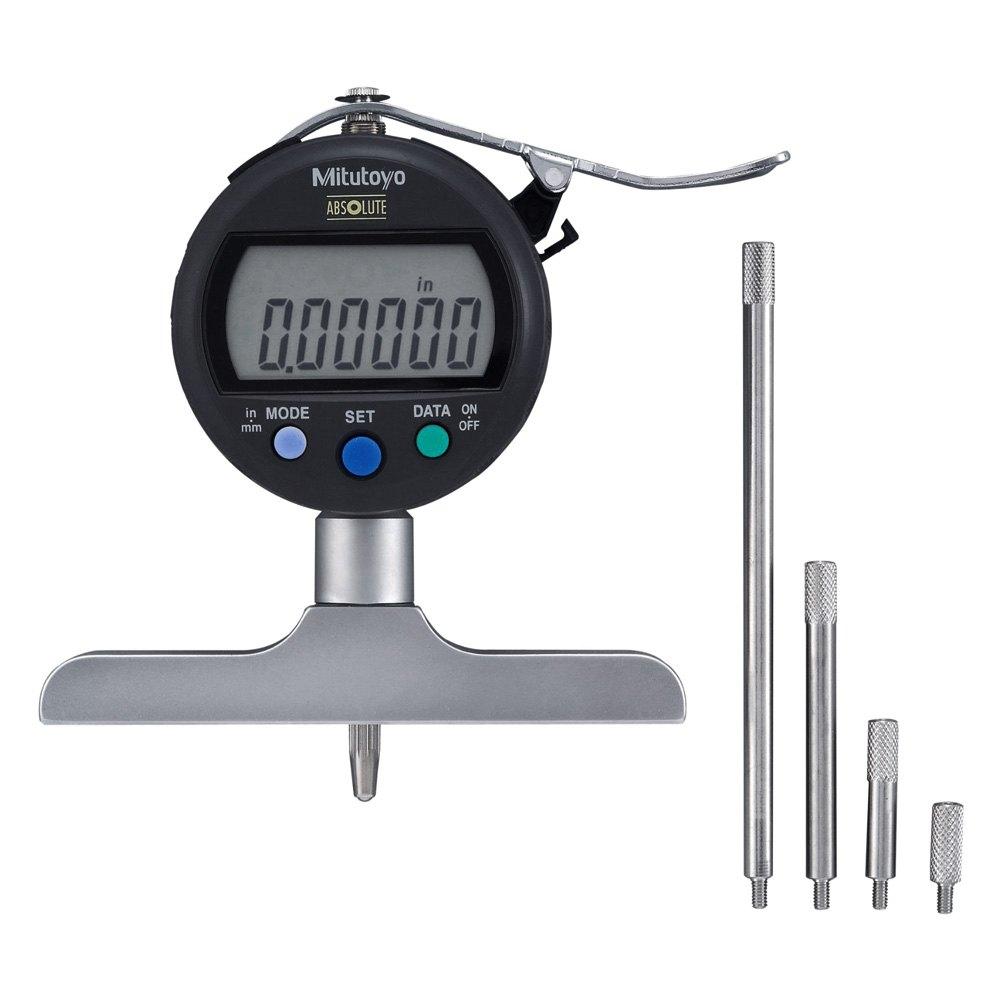 Digital Drop Indicator : Mitutoyo absolute digimatic depth gauge