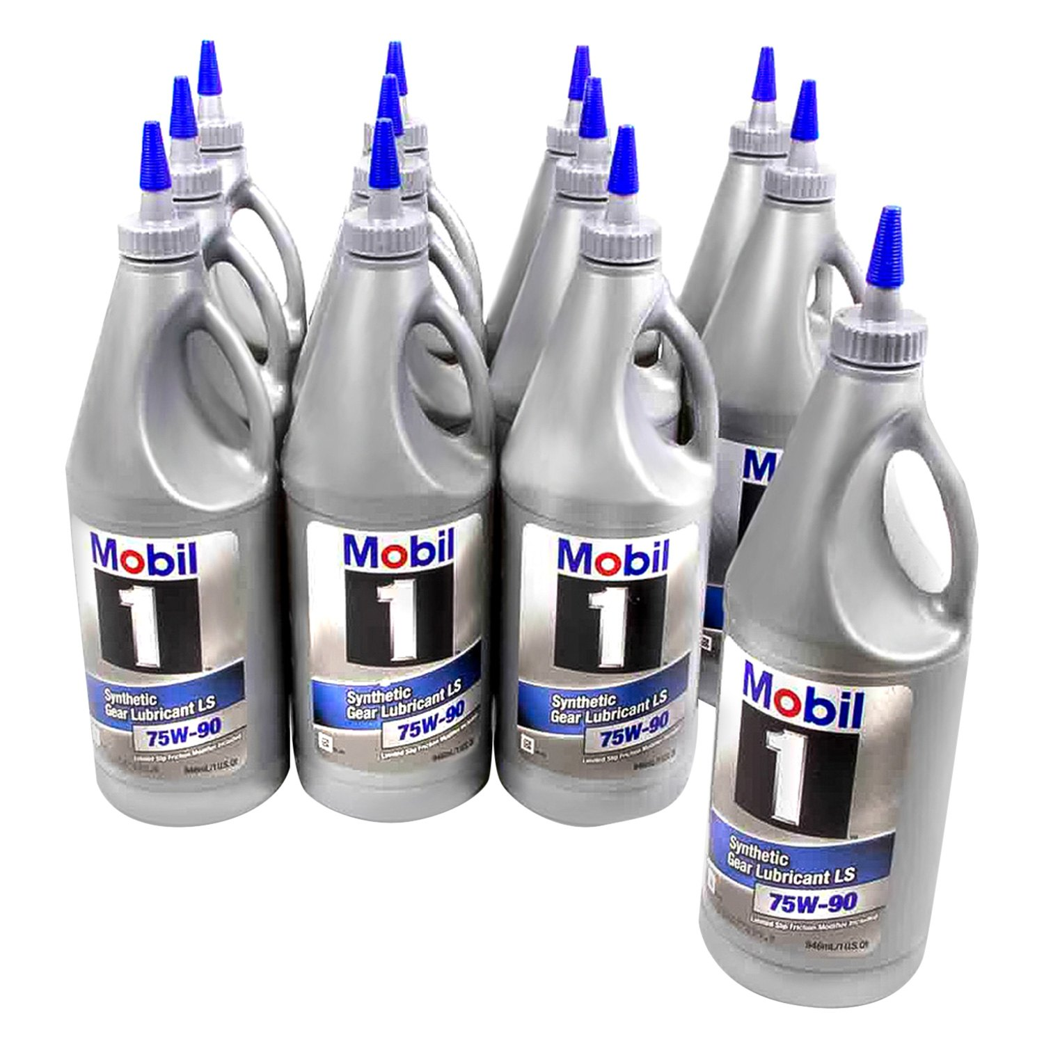 mobil 1 104361 sae 75w 90 synthetic 1 quart gear lube. Black Bedroom Furniture Sets. Home Design Ideas