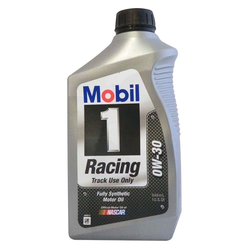 mobil 1 mob102622 1 racing sae 0w 30 1 quart motor oil. Black Bedroom Furniture Sets. Home Design Ideas