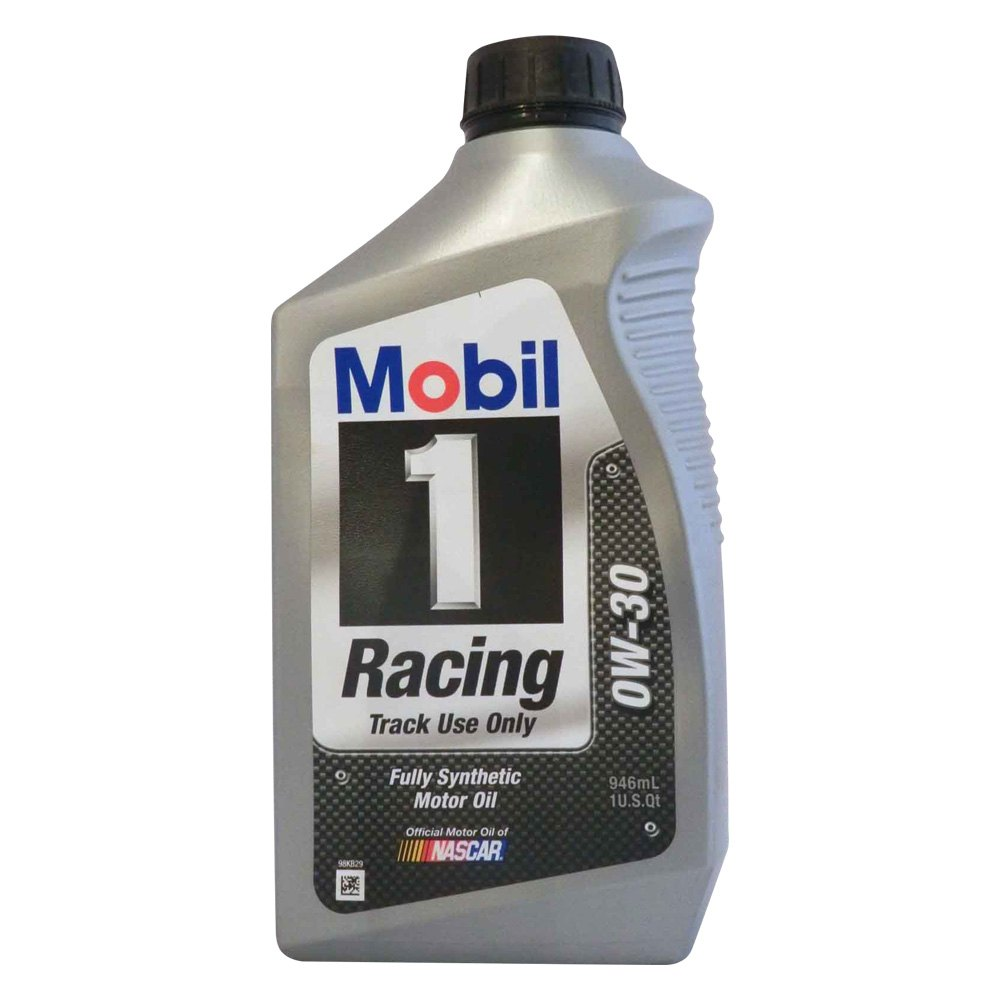 Mobil 1 102622 Sae 0w 30 Racing Synthetic Motor Oil