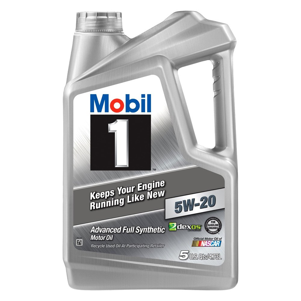 Mobil 1 112798 1 Sae 5w 20 Advanced Full Synthetic Oil Gallon Bottle