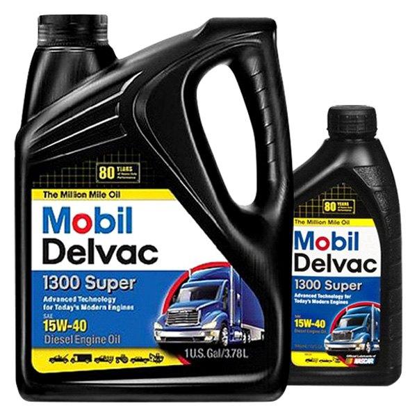 Mobil 1 delvac diesel engine oil petroleum based for Diesel engine motor oil