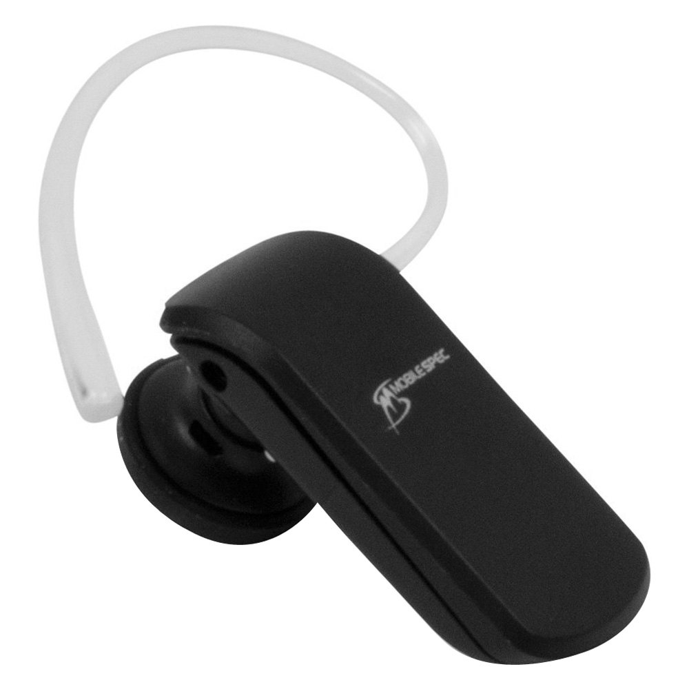 MobileSpec® MSCBTMINI21 - Black Bluetooth Headset