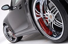 Modular Society MR3 Chrome on Porsche 997