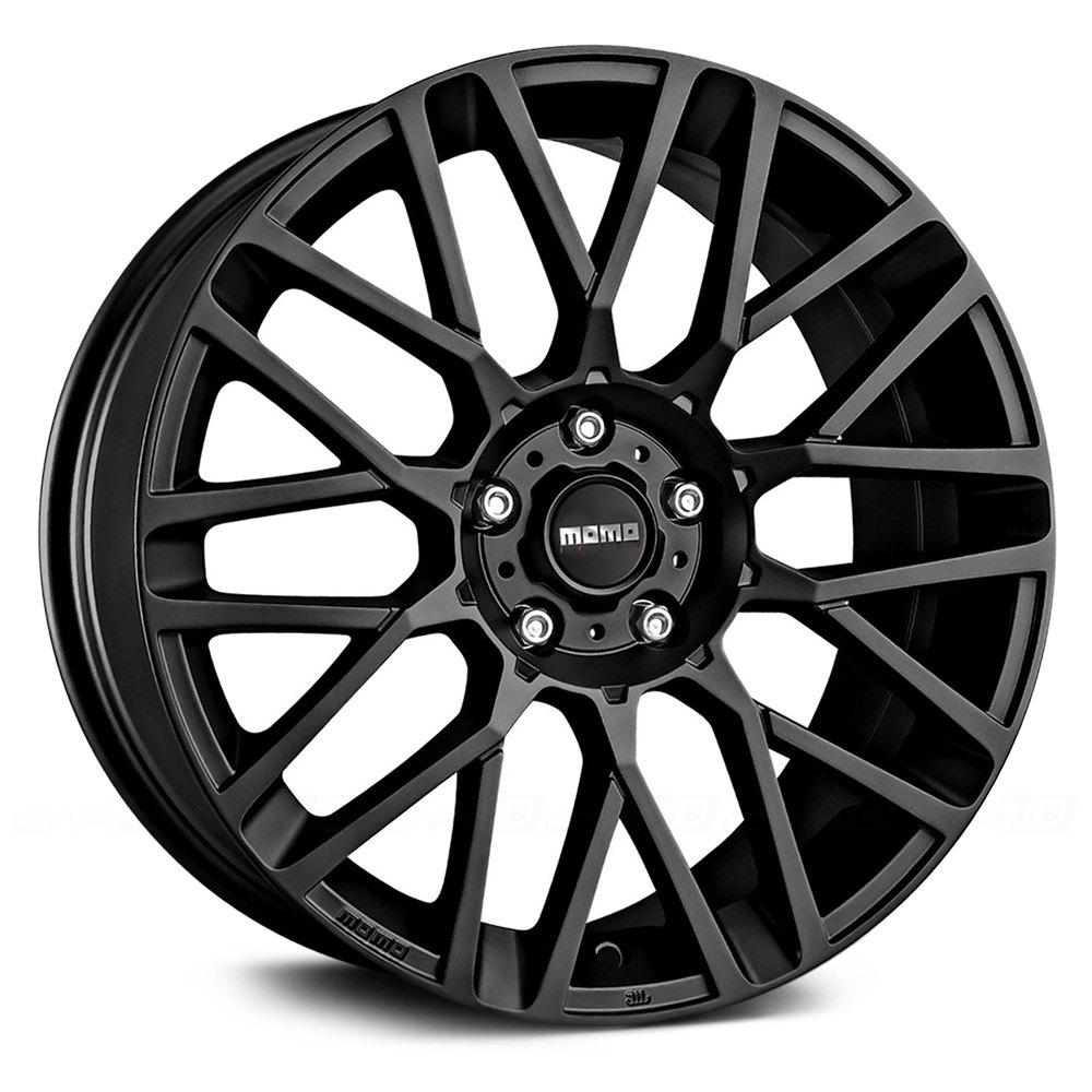 Momo 174 Revenge Wheels Black Rims