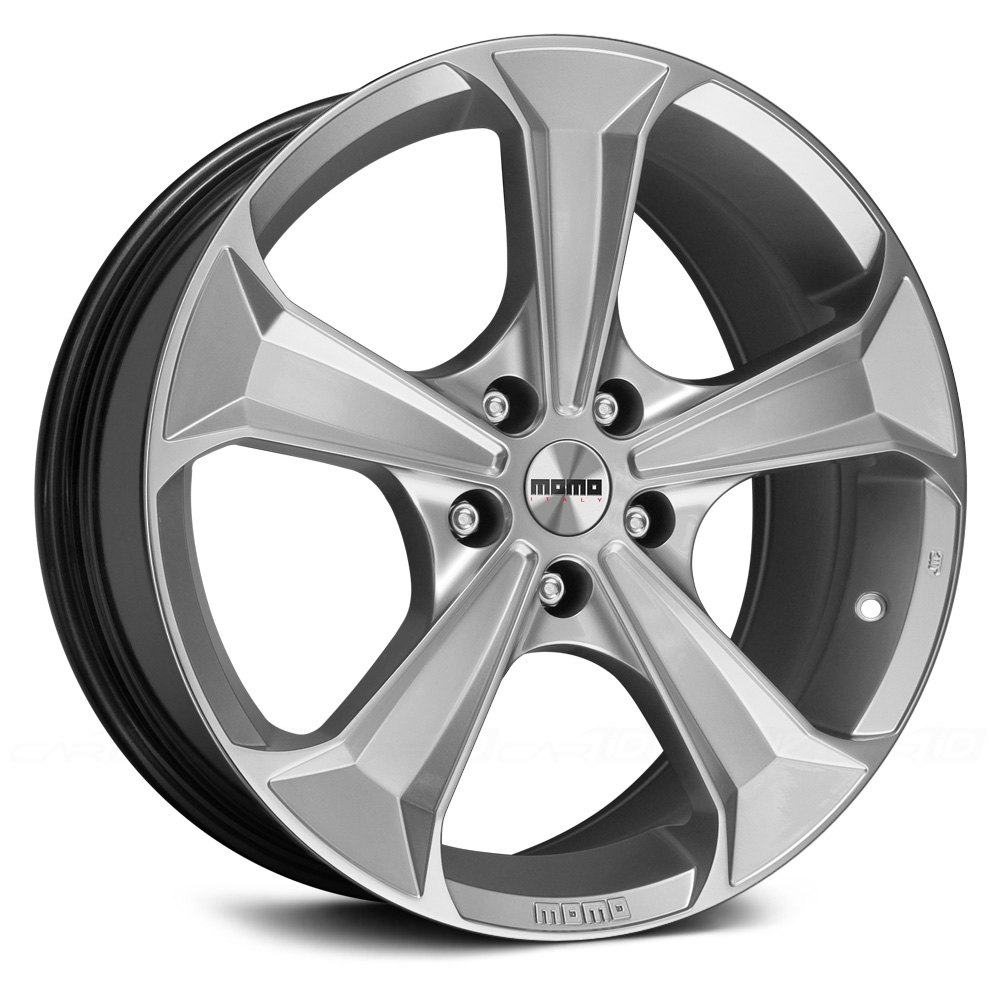 momo sentry wheels   hyper silver rims
