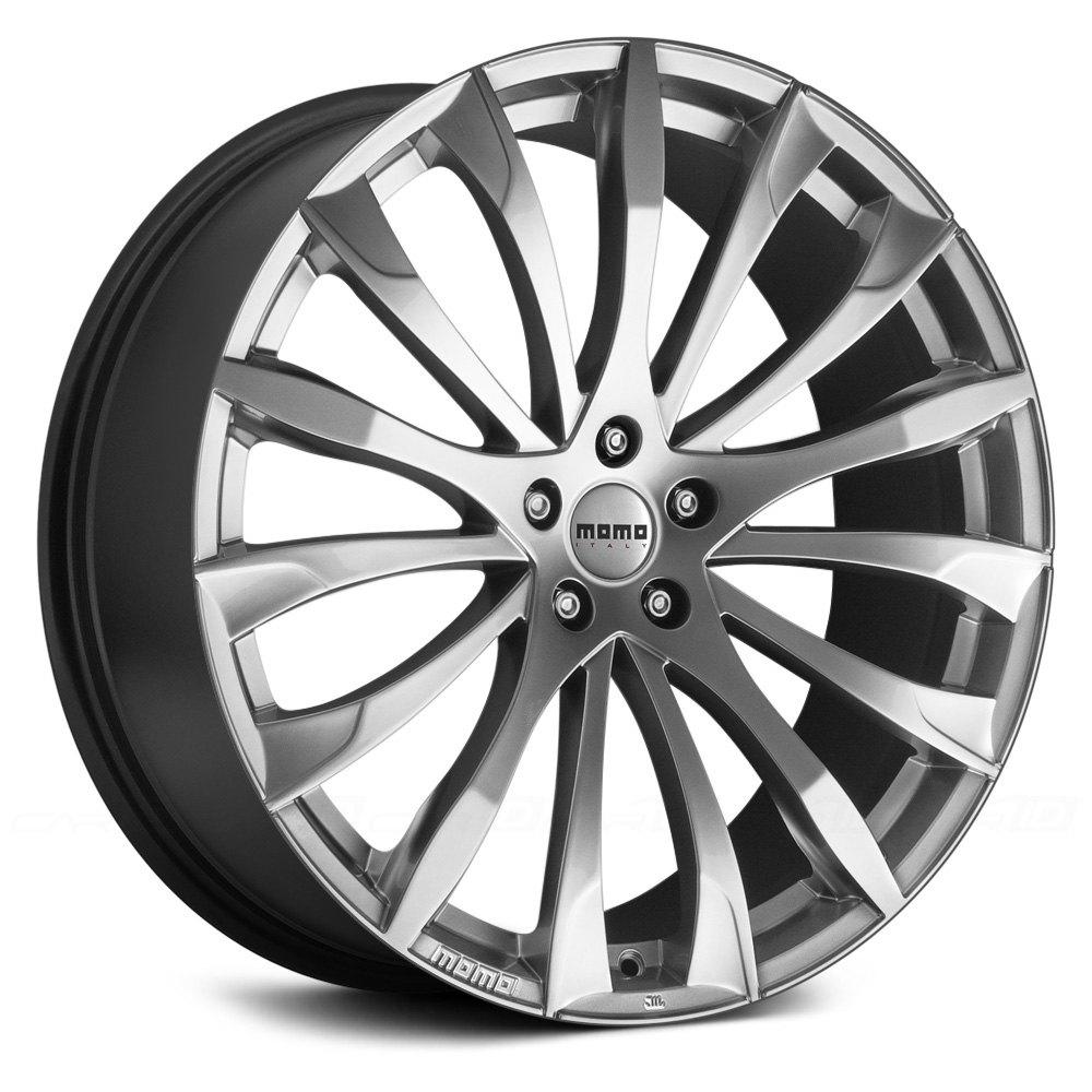Momo 174 Sting Wheels Hyper Silver Rims