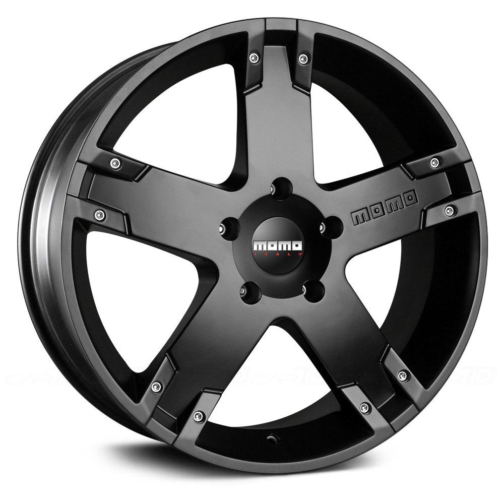 Momo 174 Storm G2 Wheels Matte Black Rims
