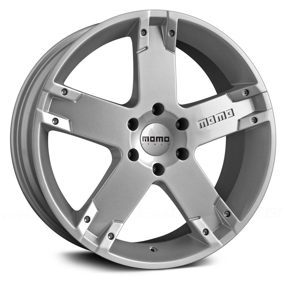 Momo 174 Storm G2 Wheels Silver Rims