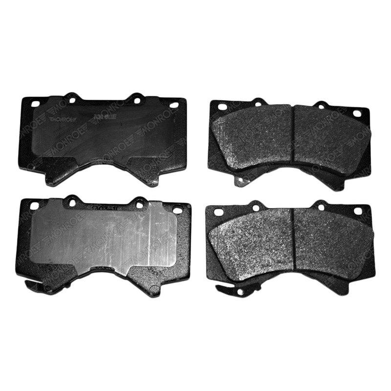 monroe dx1303 total solution semi metallic front disc brake pads. Black Bedroom Furniture Sets. Home Design Ideas
