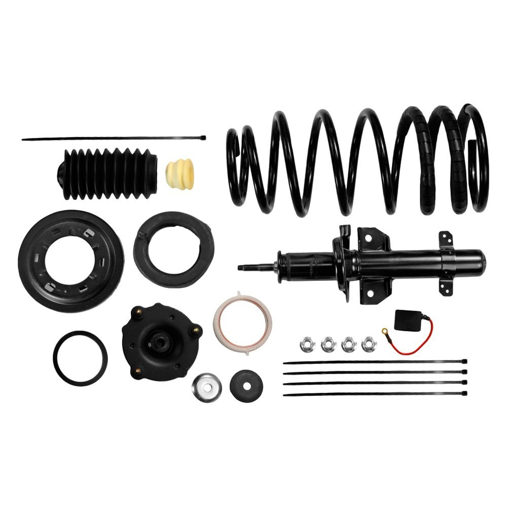 monroe lincoln continental sedan 1991 air to coil springs conversion kit. Black Bedroom Furniture Sets. Home Design Ideas