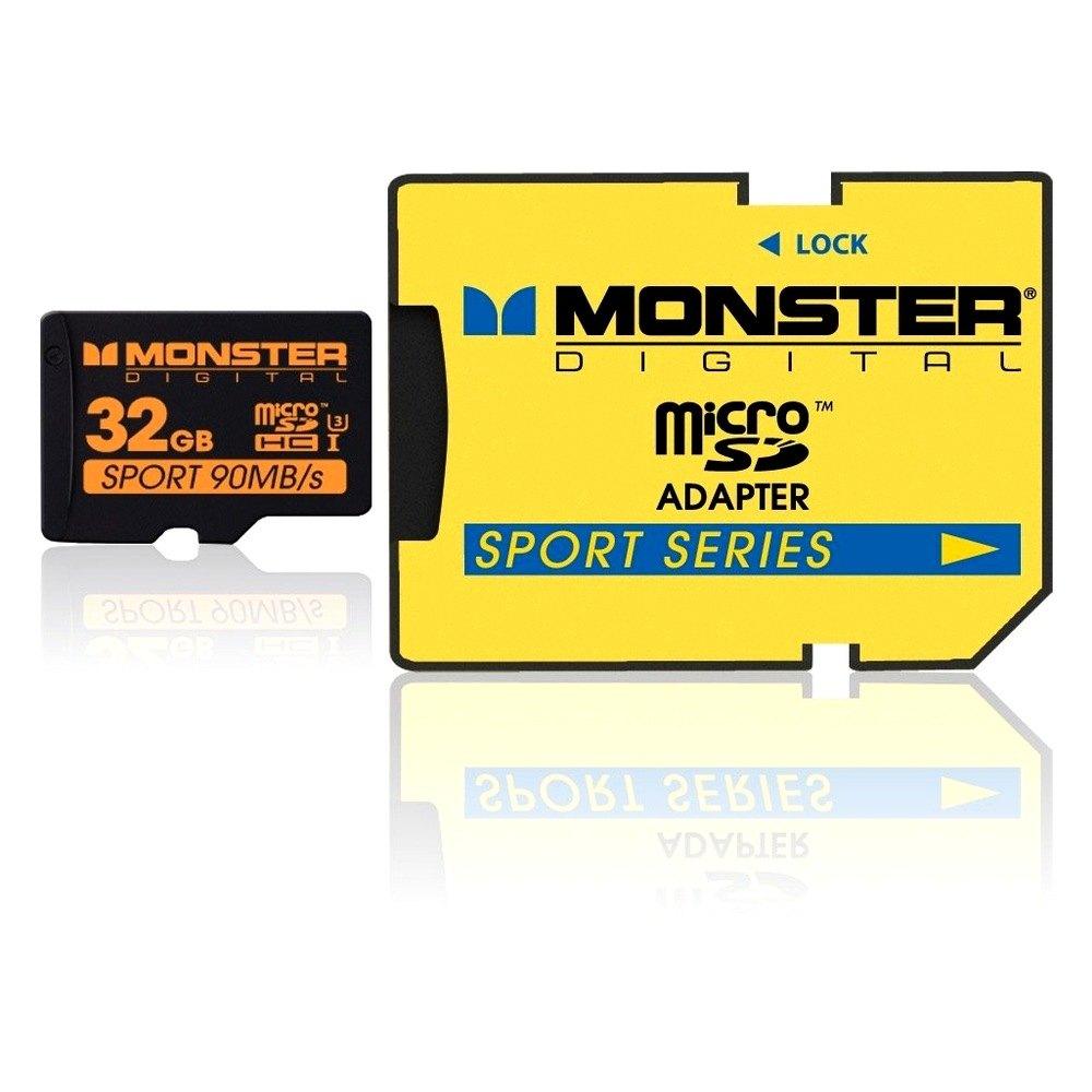 monster digital sdusp0032a 32 gb sdhc micro card sport90. Black Bedroom Furniture Sets. Home Design Ideas
