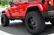 MONSTER ENERGY® - 538BM Gloss Black with CNC Milled Accents on Jeep Wrangler