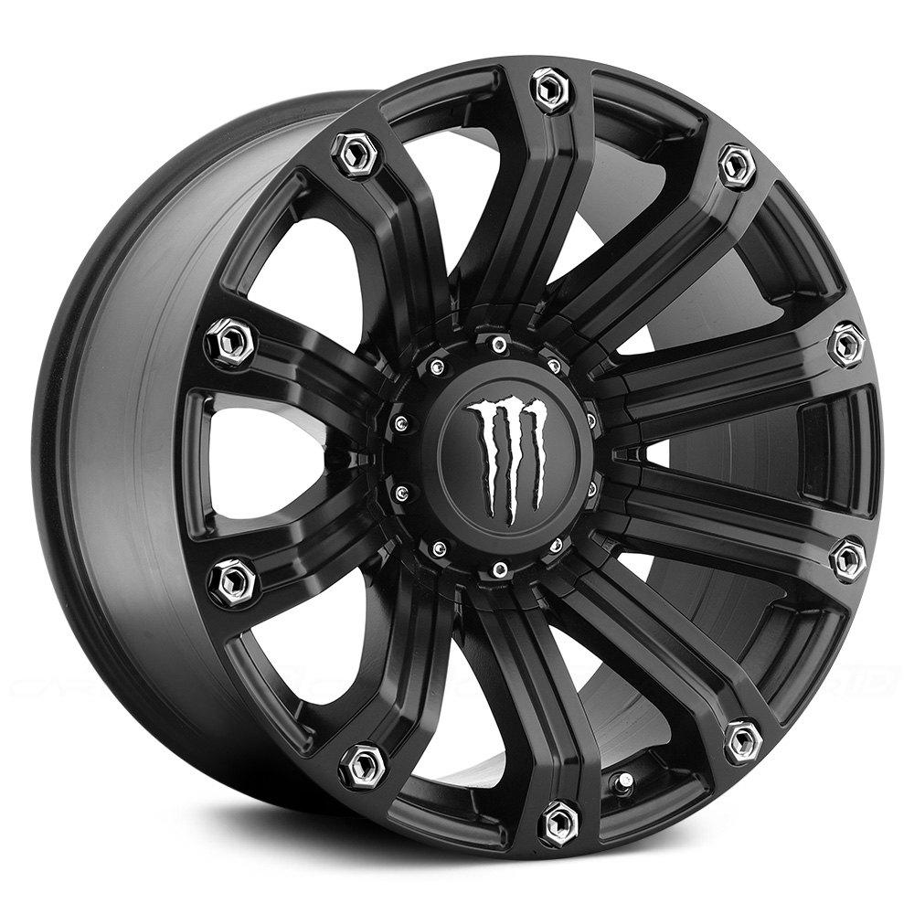 MONSTER ENERGY® 534B Wheels - Satin Black Rims