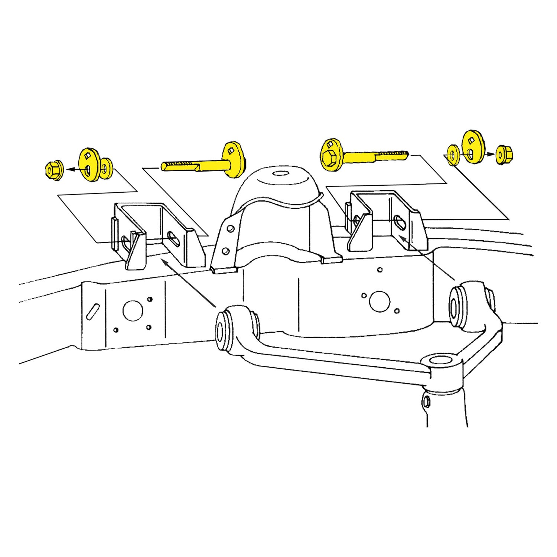 Alignment Caster//Camber Kit Front Moog K8701