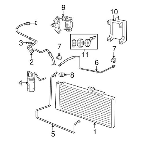 mopar u00ae 55056935ac  c refrigerant liquid hose