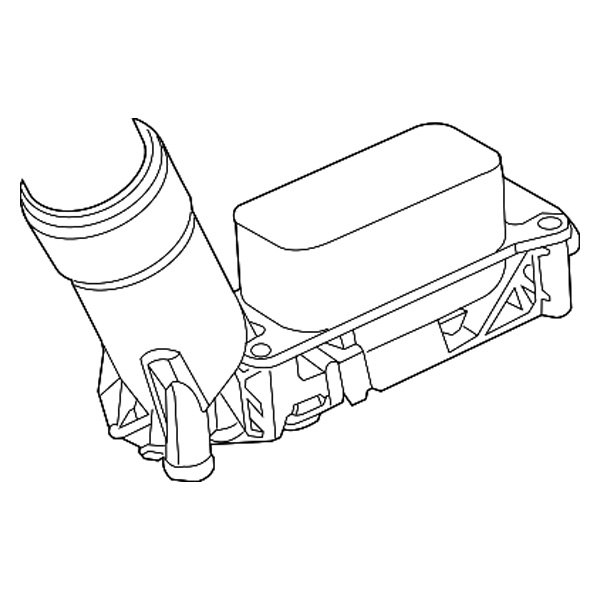mopar oil filter adapter