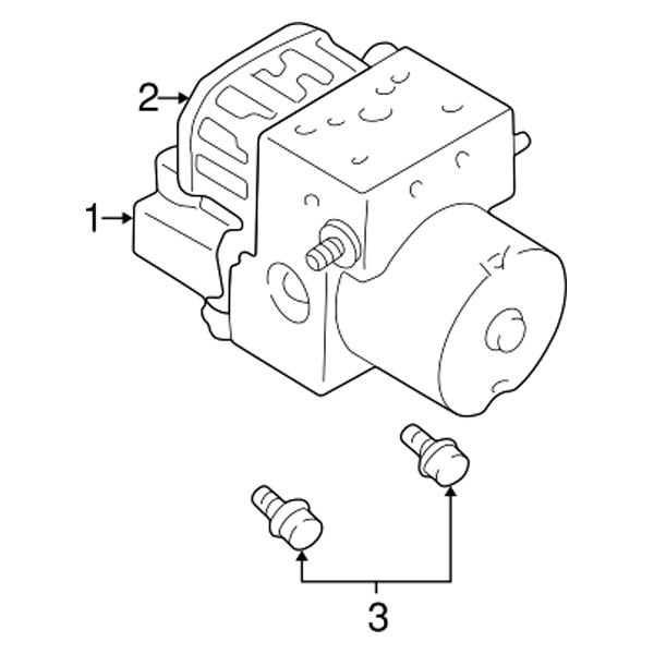 Abs Control Module Location