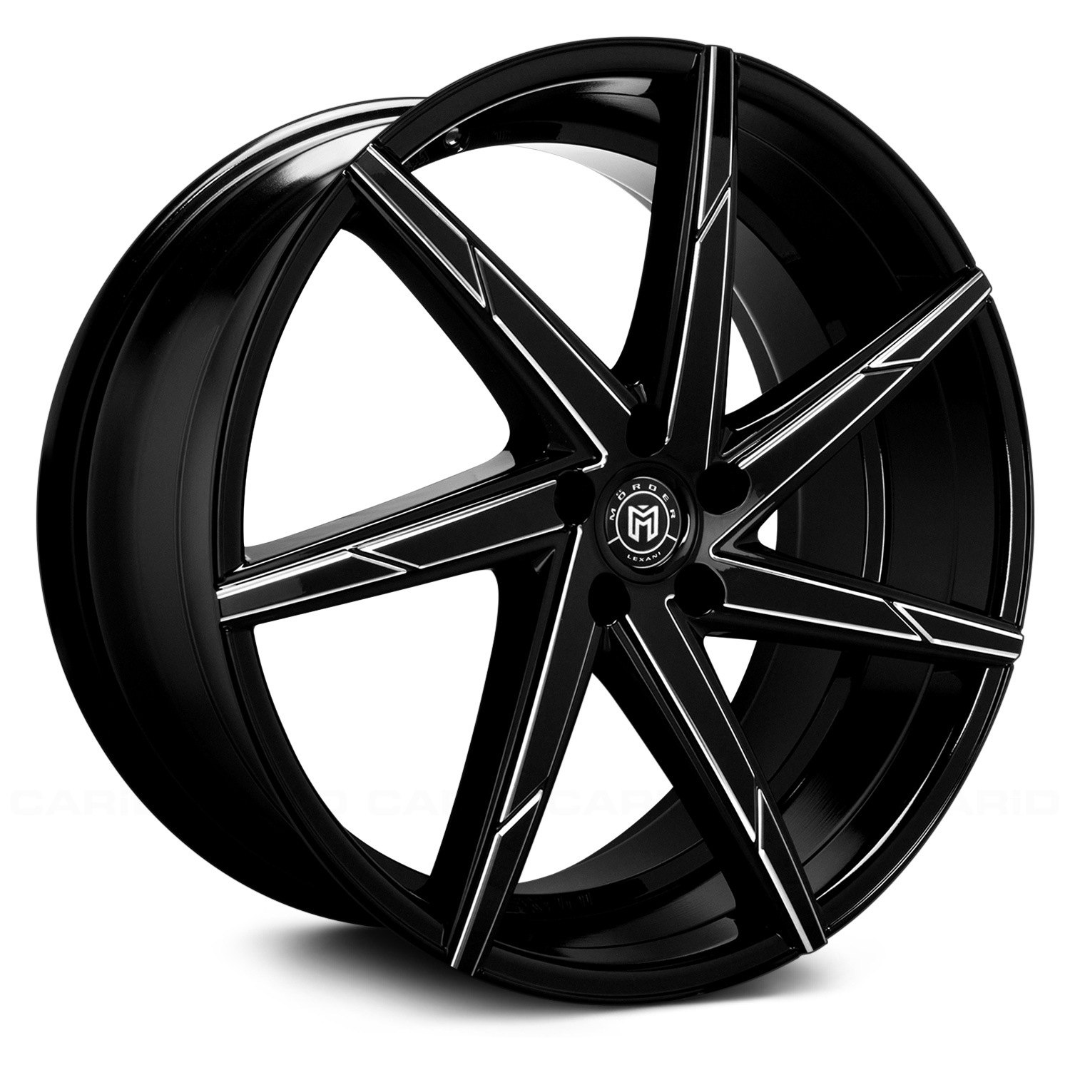 Gloss Black With Machined Accents Rims: Gloss Black With CNC Machined