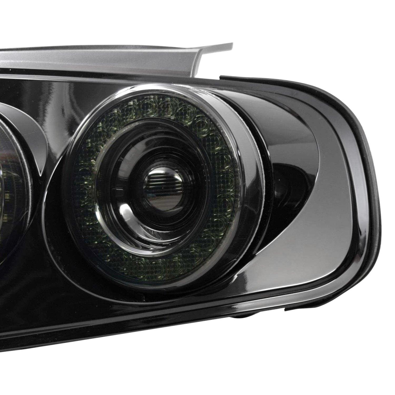 morimoto ford mustang 2010 xb black smoke led tail lights. Black Bedroom Furniture Sets. Home Design Ideas