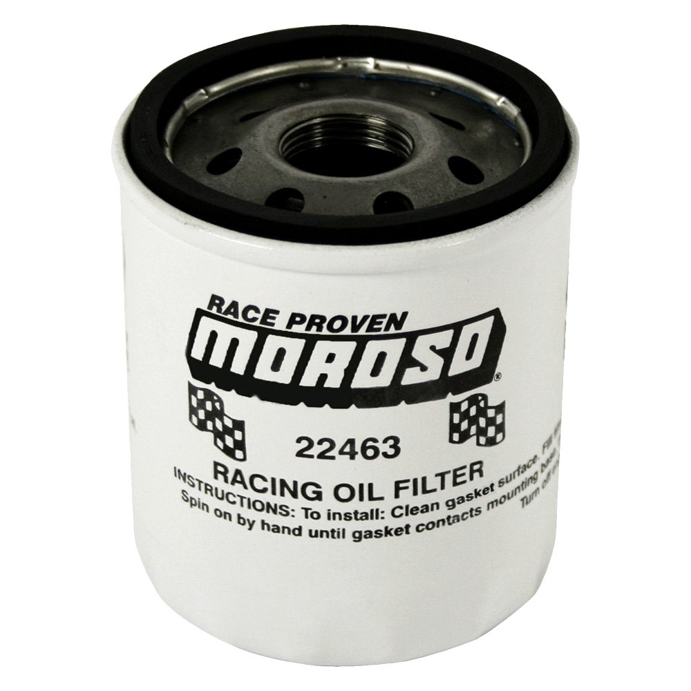Used 22463 moroso racing oil filter for sale part for Sale on motor oil