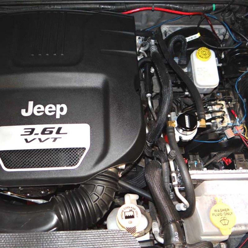 Moroso® - Jeep Wrangler 3.6L 2012 Small Body Oil Catch Can