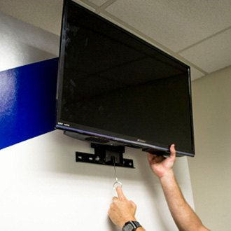 MORryde TV56129H Drop Down TV Wall Mount