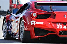 MOTEGI RACING® - MR120 TECHNOMESH S Race Silver on Fearrari 458 Italia