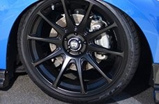 MOTEGI RACING® - MR127 Satin Black on Nissan 370Z