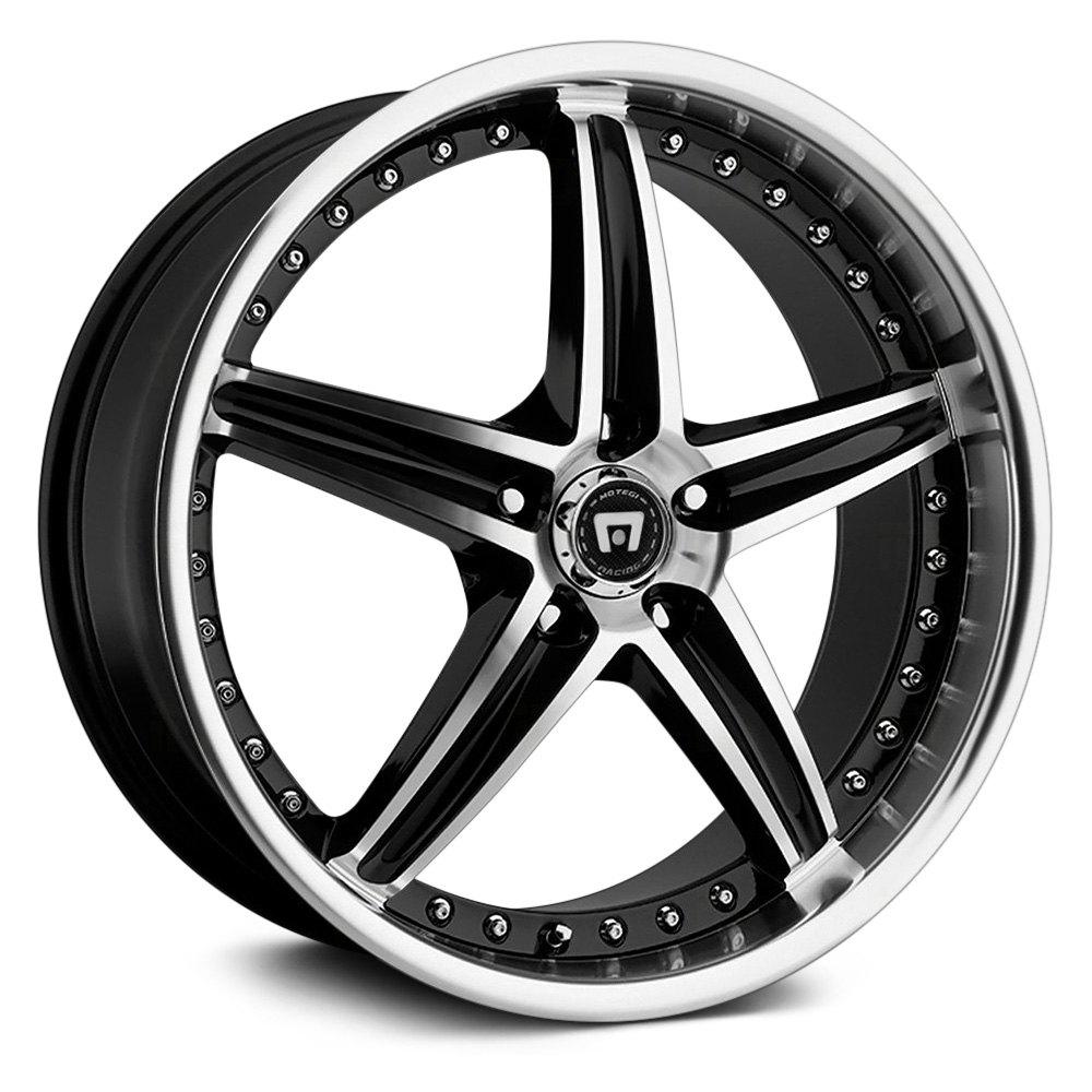 Motegi Racing 174 Mr107 Wheels Gloss Black With Machined